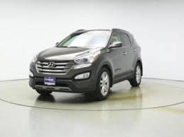 2013 hyundai santa fe sport 2 0t brown hyundai santa fe in illinois for sale used cars on