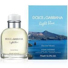 dolce and gabbana light blue 2 5 oz light blue discover vulcano by dolce gabbana eau de toilette spray
