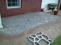 Easy Patio Pavers Lovable Inexpensive Patio Pavers Home Decorating Images 1000