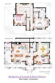 frasier crane apartment floor plan amazing gilmore girls house