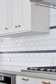 marvellous white subway kitchen accent tile backsplashes comes