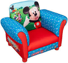 Minnie Mouse Armchair Disney Mickey Mouse Upholstered Chair Toys