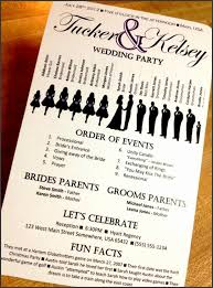 how to create wedding programs 9 how to create event program sletemplatess sletemplatess