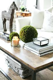 Decorative Trays For Coffee Table Trays For Ottoman Coffee Tables How To Style Your Coffee Table