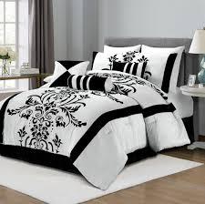 Walmart Black And White Bedding Black And White Bedding Walmart Damask Sets King Cheap Crib