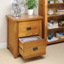 wood file cabinet 2 drawer make office look great wood furniture
