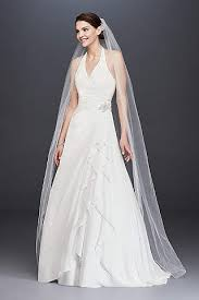 wedding dresses prices halter wedding dresses gowns david s bridal