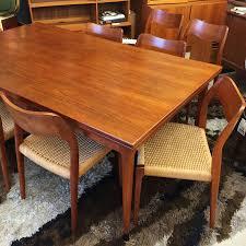 Teak Dining Room Tables Moller Teak Dining Table