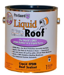 Dicor Epdm Rubber Roofing Coating System by Amazon Com Liquid Roof Rv Roof Coating U0026 Repair 1 Gallon Home