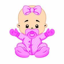 Preferidos Aplique Bebê Menina - 12 unidades &MW19