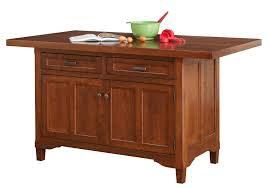 wood kitchen island solid cherry wood kitchen island