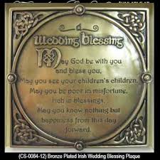 wedding blessings wedding blessing plaque bronze knots gifts