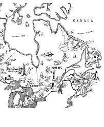 map of east canada canada day coloring page map of eastern canada geography north