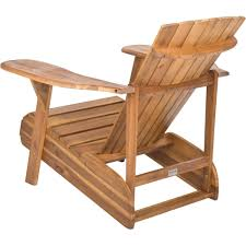 Outdoor Furniture Wood Safavieh Mopani Outdoor Chair Walmart Com