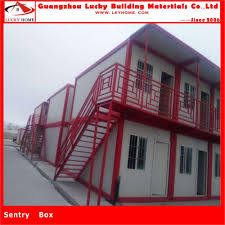 Lucky Home Two Story Self Contained Container House Flat Pack Container Homes