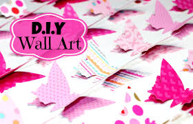 diy room decor easy wall art youtube