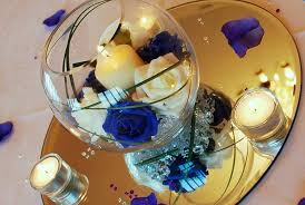 fish bowl centerpieces beautiful wedding centerpieces with fish pictures styles ideas