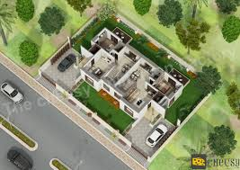 Free 3d Floor Plan by Free Floor Plan Maker With Green Grass Drawing Architecture 3d