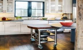 kitchen carts kitchen island plans with seating chrome and wood