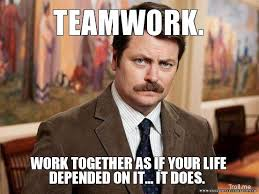 Teamwork Memes - expectations according to memes english i ms shook chs 9