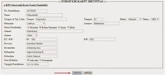 membuat ktp dengan html collection of xi ipa 5 cara membuat e ktp xi ipa 5 prosedur