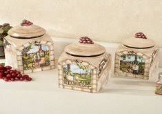 tuscan style kitchen canister sets tuscan style kitchen canisters luxurious kitchen canister