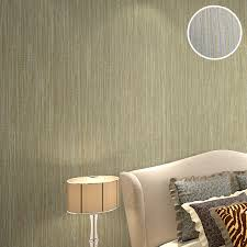 bedroom background design natural beige grey grass cloth wallpaper