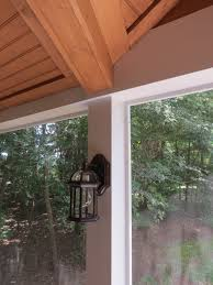 Shed Roof Screened Porch Screened Porch With Open Gable Shed Roof U2014 Deckscapes