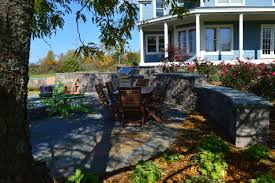 outdoor living space vermont landscaping design installation