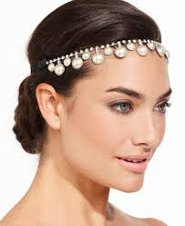 pearl headpiece josette pearl and rhinestone headpiece handbags accessories