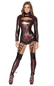 Black Widow Halloween Costumes Amazon Black Widow Spider Romper Halloween Costume