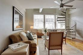 Ikea Ceiling Fans Eclectic Living Room With Ceiling Fan U0026 Exposed Beam In New