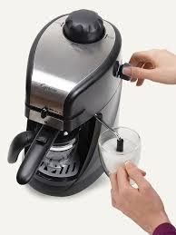 espresso u0026 cappuccino machine steam pro capresso
