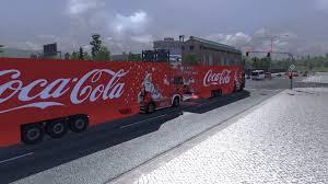 minecraft truck coca cola xmas pack v 1 0 ets 2 skins modbox us