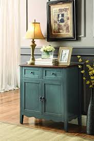 Vintage Blue Cabinets Vintage Cabinets Amazon Com