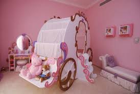 carriage baby bed with staircase and pink girls bedroom also tiny