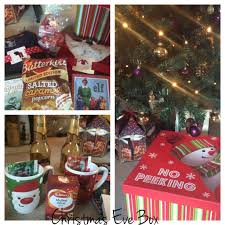 couples christmas eve box you and me are family