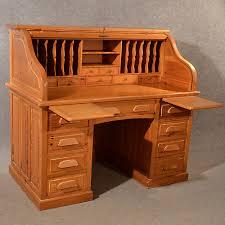 Antique Pine Computer Desk by Antique Rolltop Bureau Pine Roll Top Tambour Desk Antiques Atlas