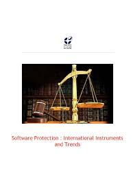 software protection international instruments and trends