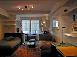 Small Studio Apartment Decorating Ideas With Double Single Bed And - Small studio apartment designs