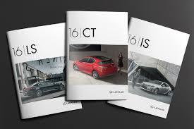 lexus usa jobs lexus brochure covers on behance