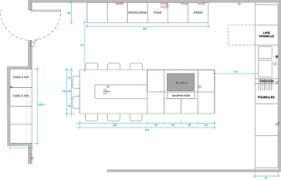 plan de cuisine avec ilot central plan cuisine ilot ilot central bois pinacotech