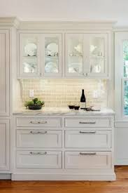 Built In Kitchen Cabinets 1000 Ideas About Glass Kitchen Cabinets On Pinterest Glass Kitchen