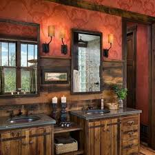Rustic Bathrooms 20 Wonderful Design Rustic Bathroom Vanities For Inspiration Your