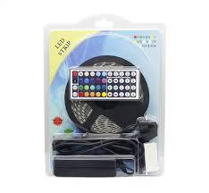 amazon com bonlux 5m 16 4 ft waterproof rgb led strip light kit