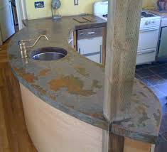 concrete countertops poured in place poured concrete countertops