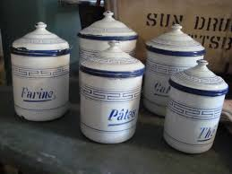 100 kitchen canisters blue 100 blue kitchen canister