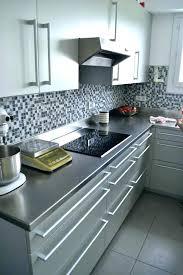 plan de travail cuisine inox sur mesure plan de travail inox cuisine plan de travail et cracdences inox plan