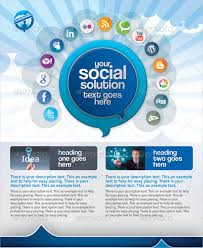 social media brochure template social media brochure template 15 social media flyers free psd ai