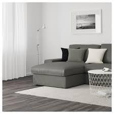 Ikea Chaise Lounge Sofa by Kivik Three Seat Sofa And Chaise Longue Hillared Dark Blue Ikea